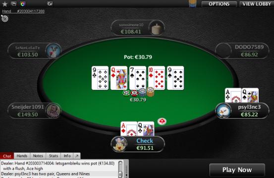 pokerstars.it table