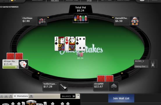 juicy stakes table