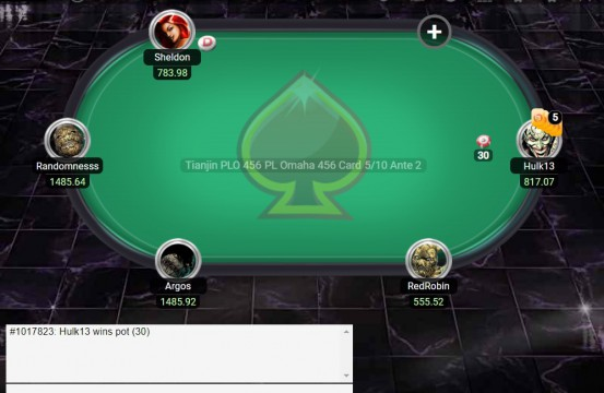 PLO456 table