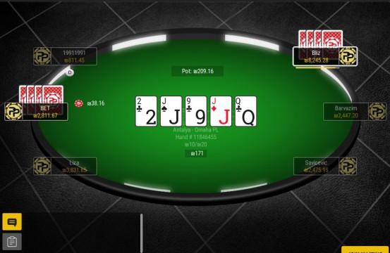 Poxi Poker tables