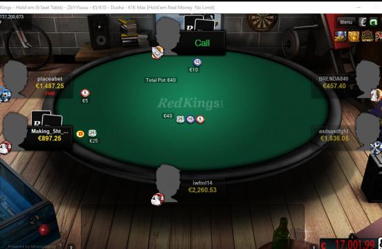 RedKings table