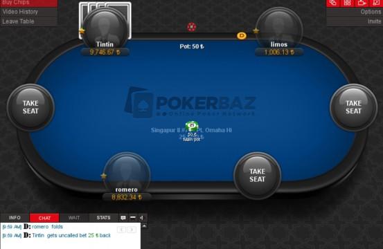 pokerbaz table