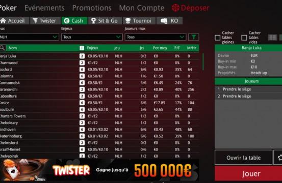 Poker Room ipoker.fr lobby view
