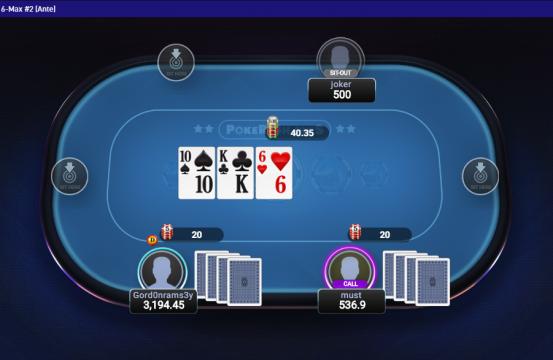 poker sharks table