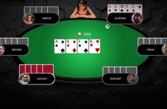 2021 Poker Room Adda52 table view