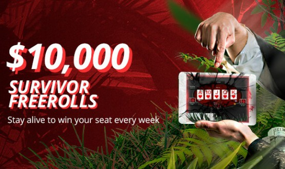 BetOnline $ 10k Survivor Freerolls Start Today image