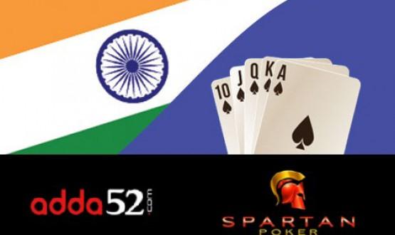 Najlepsze Poker Roomy w Indiach - Adda52 i Spartan Poker image