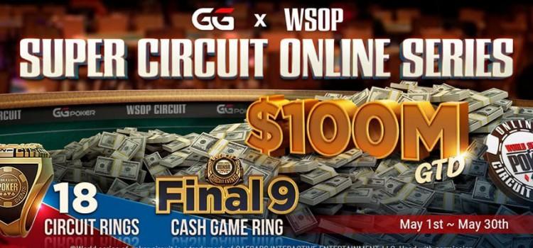 2021 GGPoker WSOP Super Circuit Online Series starts on May 1st image