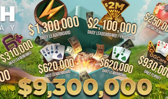 2021 March Cash Giveaway $9.3M in promotions at GGPoker image