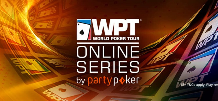 2021 WPT Online Series at PartyPoker from May 14 to June 2 image