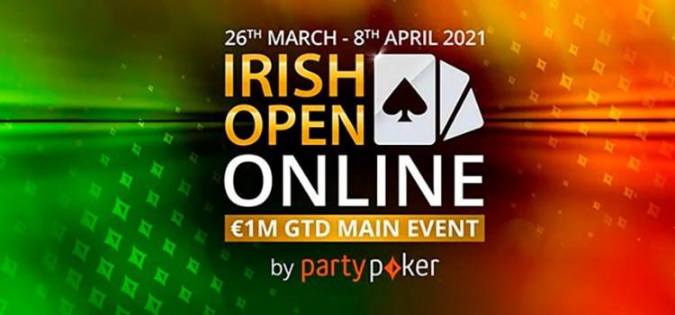 PartyPoker Irish Open Online series 2021 imagem