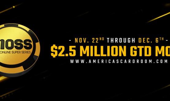 Americas Cardroom Mini Super Series Online de $ 2,5 milhões imagem