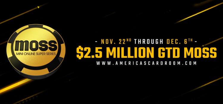 Americas Cardroom $ 2.5 Million Mini Online Super Series image