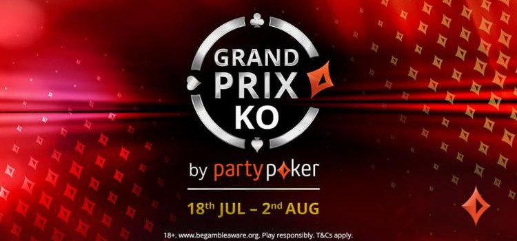 Grand Prix KO from July 18th to August 2nd at PartyPoker image