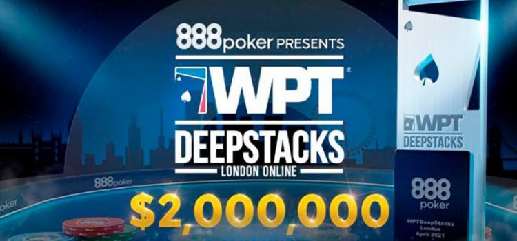 888Poker 2021 WPT Deepstacks London Online - $2M GTD prize image