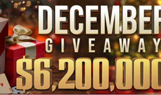 Cash Giveaway of $ 6 200 000 this December at GGPoker image