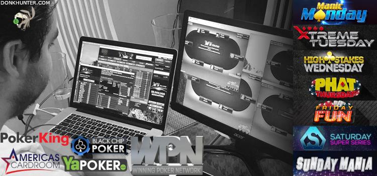 Noteworthy Tournaments on Winning Poker Network (WPN) image