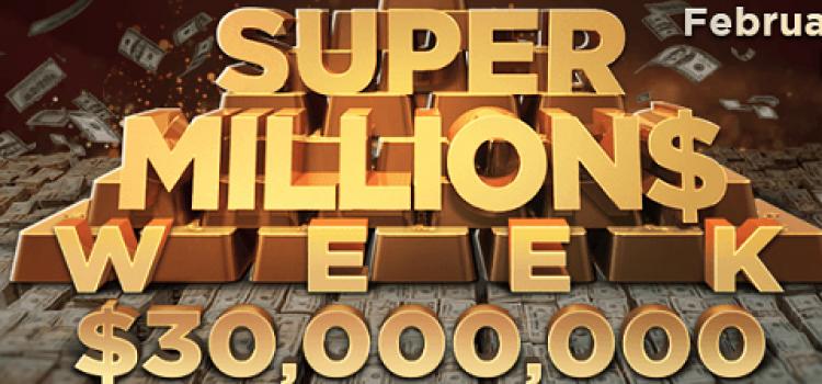 GGPoker 2021 Super Millions Week - $30M GTD over 31 Events! image