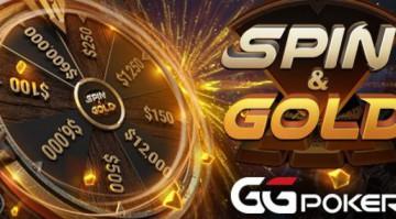 Zamień swoje T$ otrzymane za wejściówki WSOP za pomocą SPIN & GOLD na GGPOKER image