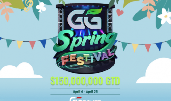 GGPoker Spring Festival starts on April 4th with $150M GTD prize image