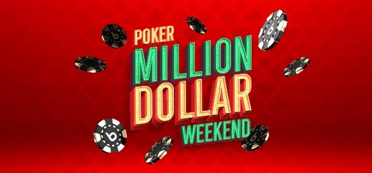 Fim de semana de $ 1.500.000 GTD Poker Million Dollar no Bodog imagem