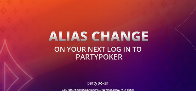 PartyPoker Mandatory Screen Name Change to Increase Security image