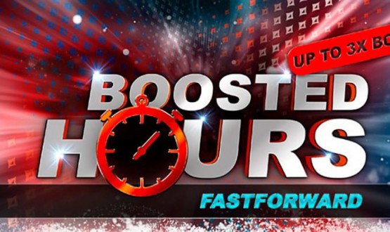 PartyPoker Boosted Hours on Fast Forward Poker image