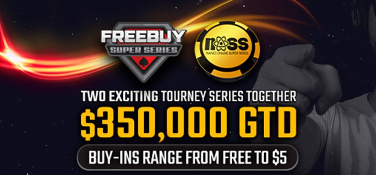 WPN FBSS + NOSS Series: $350k GTD, buy-ins from $0 to $5.5 image