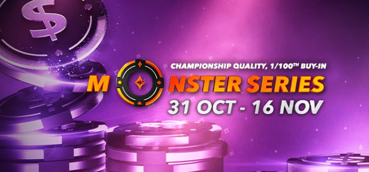PartyPoker's Monster Series Returns From 31 Oct to 16 Nov with interesting innovations image