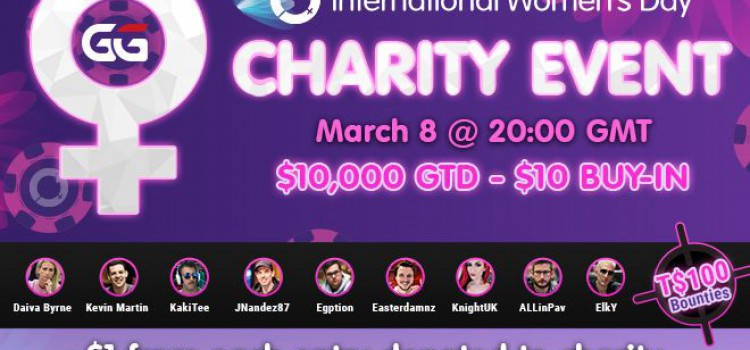 GGPoker $10k GTD Women's Day Charity Tournament March 2021 image