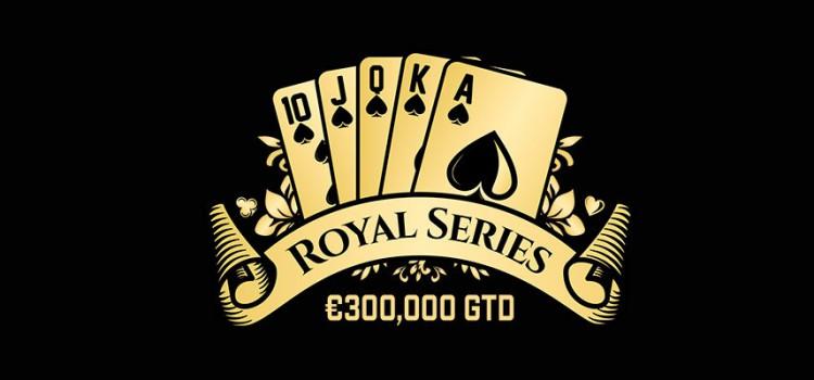 Royal Series na iPoker Network com garantia total de € 300.000 imagem