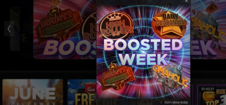 GGPoker Boosted Week: May 31st to June 6th, +20% guarantees image