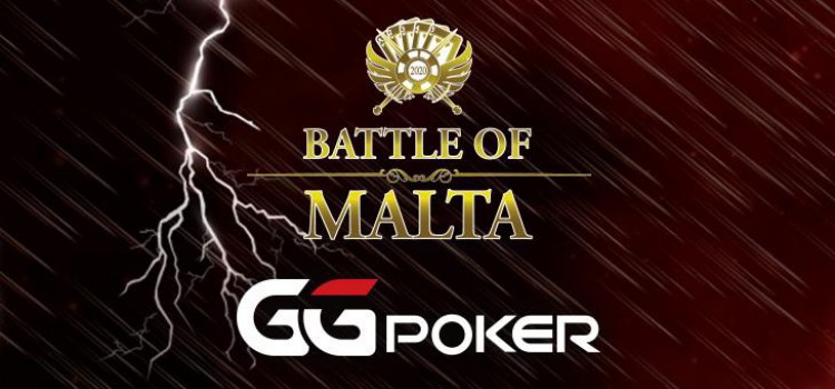 Battle of Malta will this year be running at GGPoker with $ 3 M GTD Main Event image