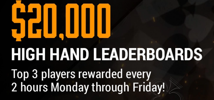 High Hand Leaderboards at Chico Poker Network (March 2021) image