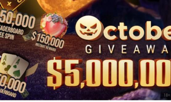 Październikowe promocje na GGPoker: $5,000.000 w puli nagród image