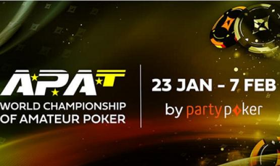 12th WCOAP starts Jan 23rd on PartyPoker - $ 750 k GTD image
