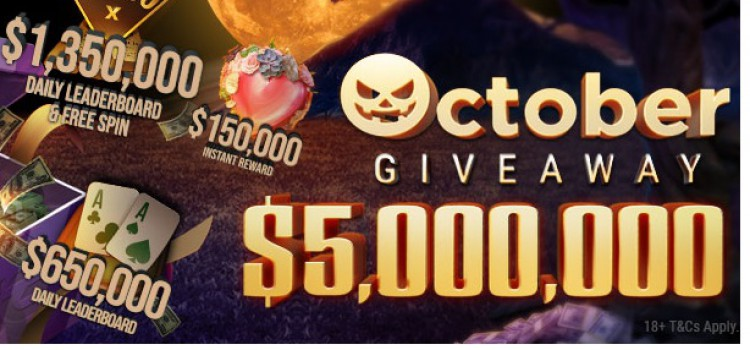 GGPoker October 2020 Promotions: total $5,000,000 prize pool. image