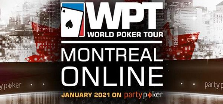 WPT Montreal 2021 will be online at partypoker image