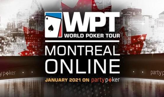 O WPT Montreal 2021 será online na partypoker imagem