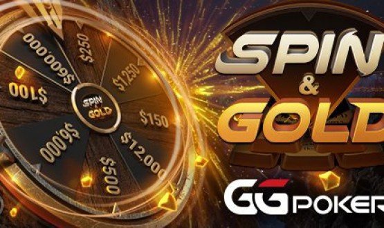 Convert your T$ from WSOP tickets into cash with Spin & Gold at GGPoker image