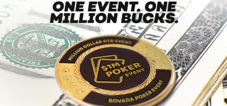 Qualifiers for Bovada Million Dollar Event already running image