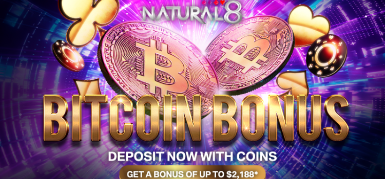 Natural8 Offering a total up to $ 2188 Bitcoin Deposit Bonus image