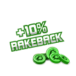 +10% rakeback imagen del premio de póker