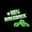 +10% rakeback poker prize image